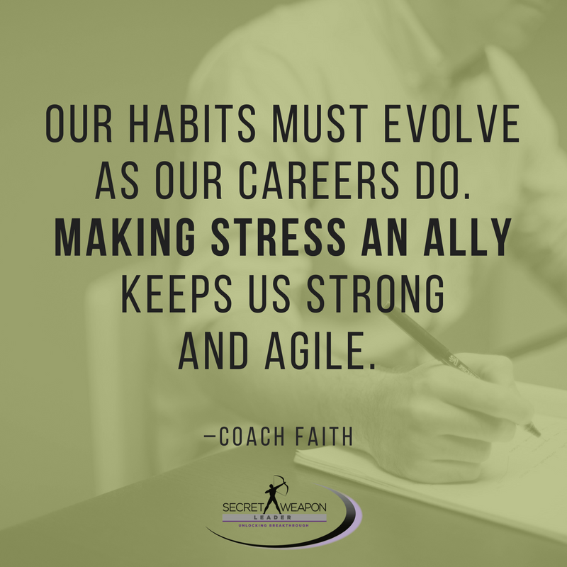 Our Habits Must Evolve As Our Careers Do – Coach Faith